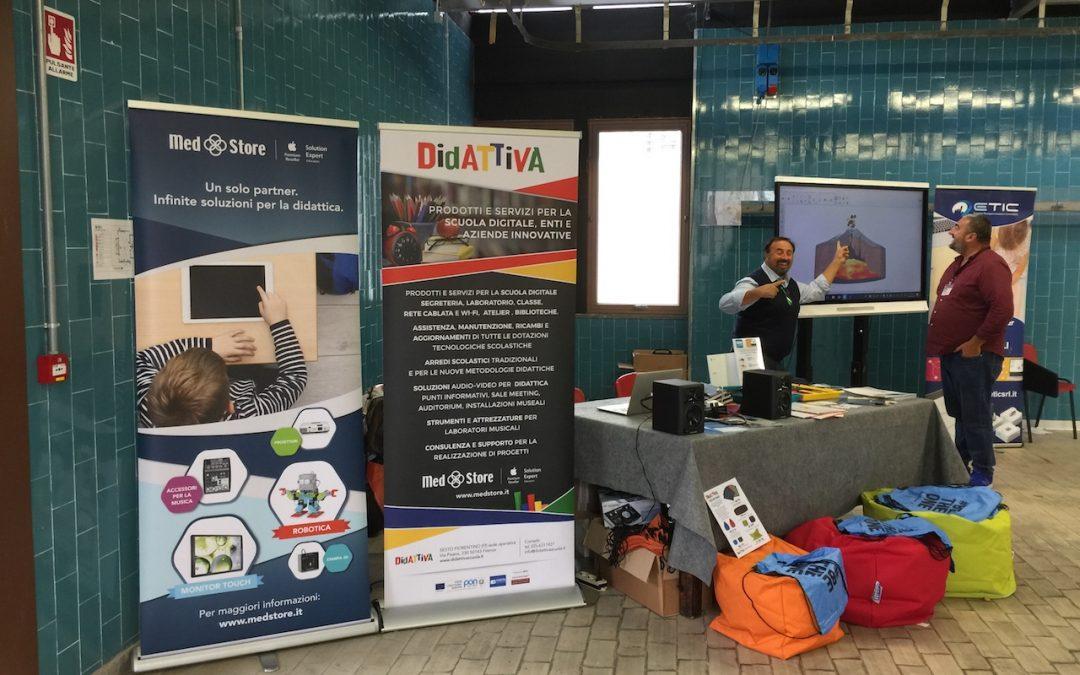 Didattiva e MedStore a Giornata regionale apprendimento digitale Prato 6 ottobre